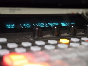 The switcher panel.